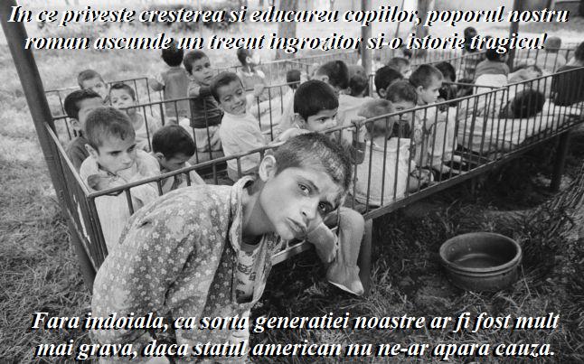 Trauna Copiilor din Romania si situatia tragica a Tinerilor Crestini din Bisericile Romane din America si Canada